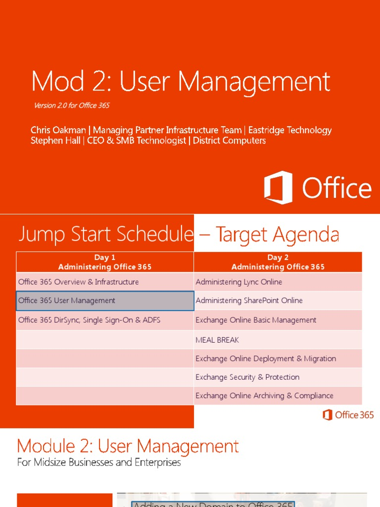 Office 365 security and compliance exchange online protection 02 - 02 O365 Smb Js V2 Usermanagement