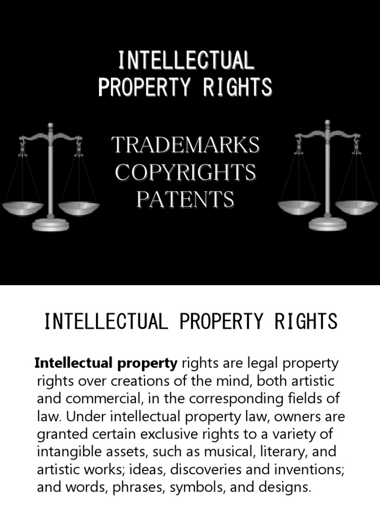 literature review on intellectual property rights Read intellectual property articles, including articles about copyrights, trademarks, patents, and intellectual property cases find out how to protect your our intellectual property articles include information on filing a patent, copyright protection, trademark registration, and other topics involving.