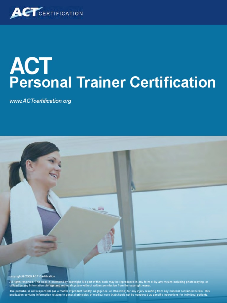 Download Action Personal Trainer Certification Textbook V2
