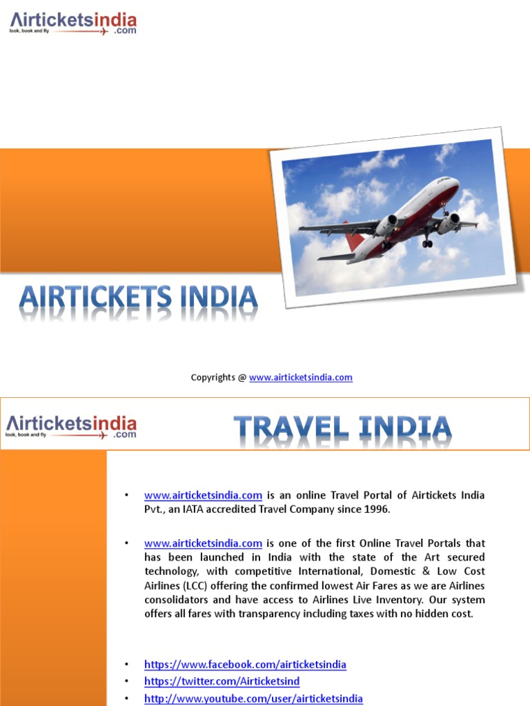 air ticket booking online