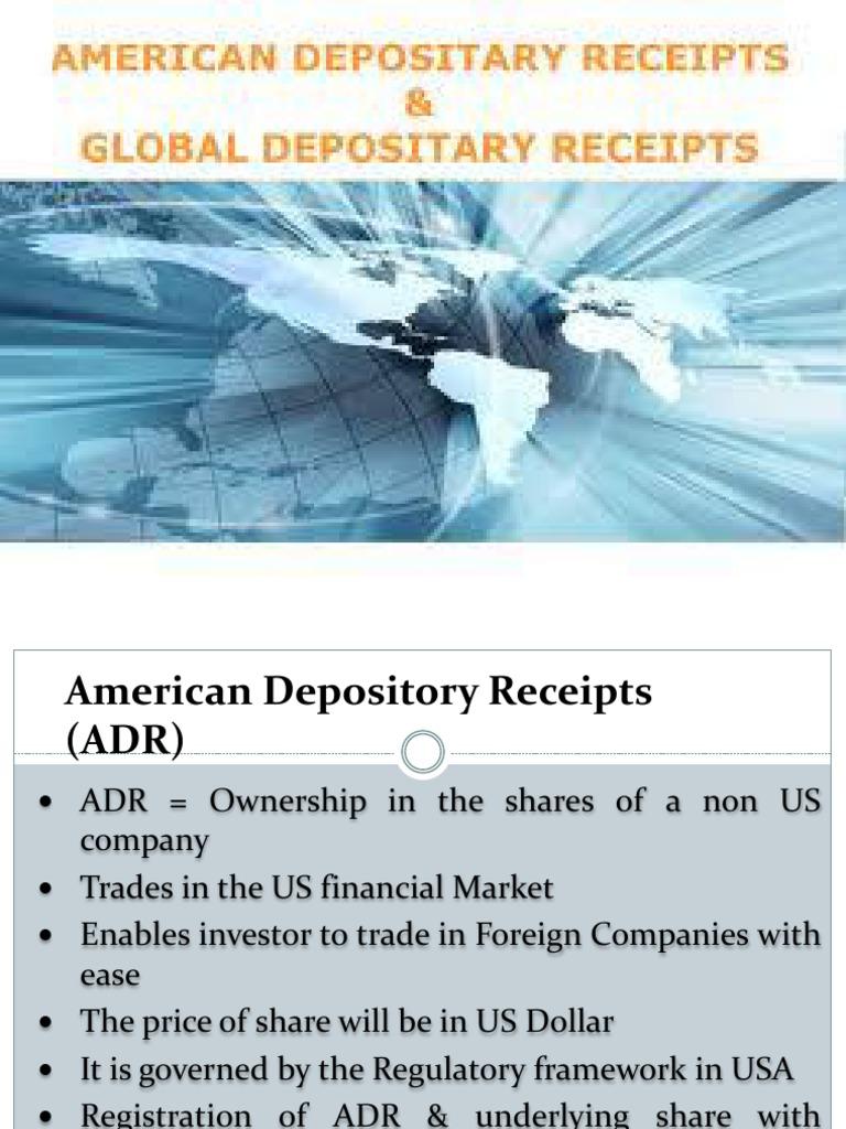 american depository receipt
