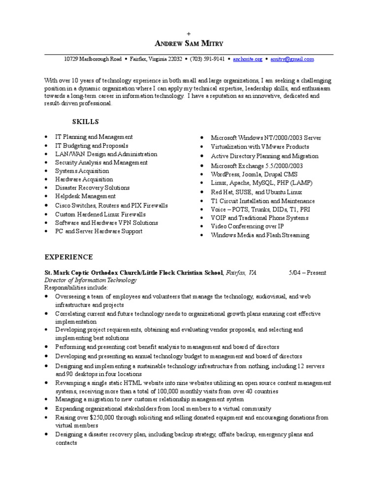 microsoft active directory resume pertaining to make resume on microsoft word 2007 resume email format sample - Active Directory Resume