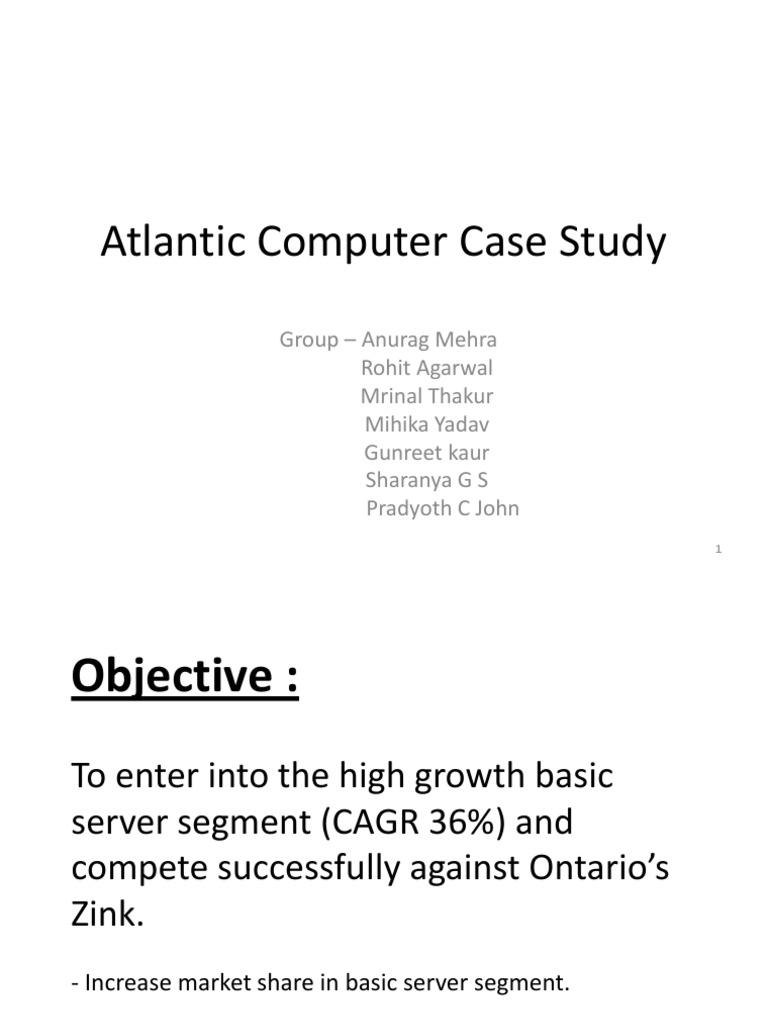 atlantic computer: case study questions essay Atlantic computers case study no description.