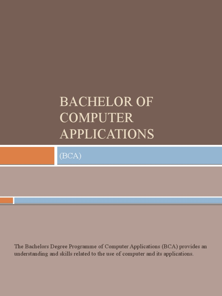 bachelor of computer applications assignments 1 bachelor of computer applications (bca) assignments year, 2012 (4th semester (pre-revised) ) cs-06 cs-64 cs-65 cs-66 cs-67.