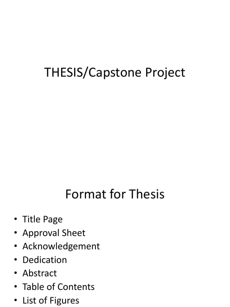 capstone thesis difference For a capstone or thesis topic consider: issues that are relevant to your workplace, classroom experience, or career goals a topic that has caught your eye in your textbook, a journal article, or a n issue that you explored for previous classwork or projects and would like to pursue further.