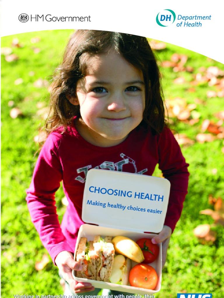 choosing health making healthier choices easier