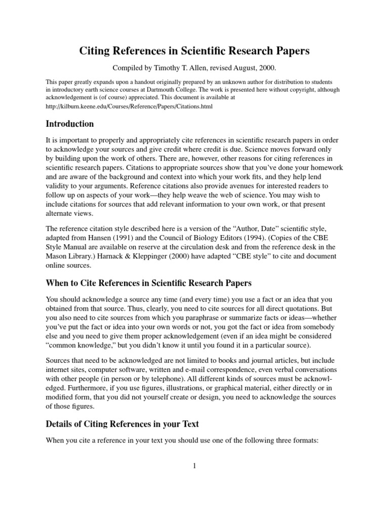 format for references in research paper How to write a bibliography for a research paper this will help your students understand how to properly cite different resources in their research papers.