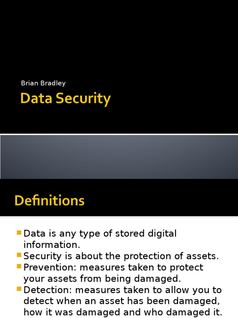 Download Data Security Kit B Definitions