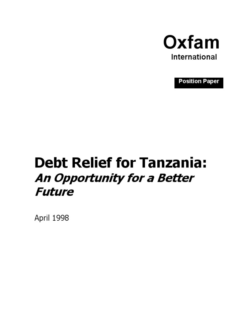 tanzania and morocco does debt relief Tanzania recorded a government debt equivalent to 3740 percent of the country's gross domestic product in 2017 government debt to gdp in tanzania averaged 3492 percent from 2001 until 2017, reaching an all time high of 5020 percent in 2001 and a record low of 2150 percent in 2008.