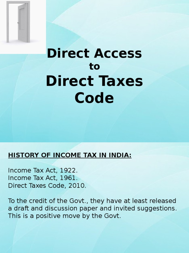 the new direct tax code overview Tax benefits for college savings (new mexico's direct sold college savings plan) created under section 529 of the internal revenue code, 529 college savings.