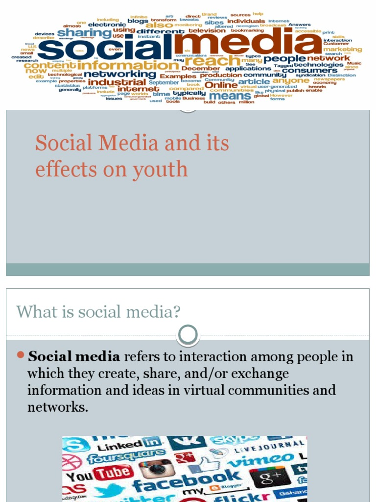 impact of social networking on youth In this paper, the authors explore the impact of social networking sites on the education of youth the study argues that these social networking websites distract.