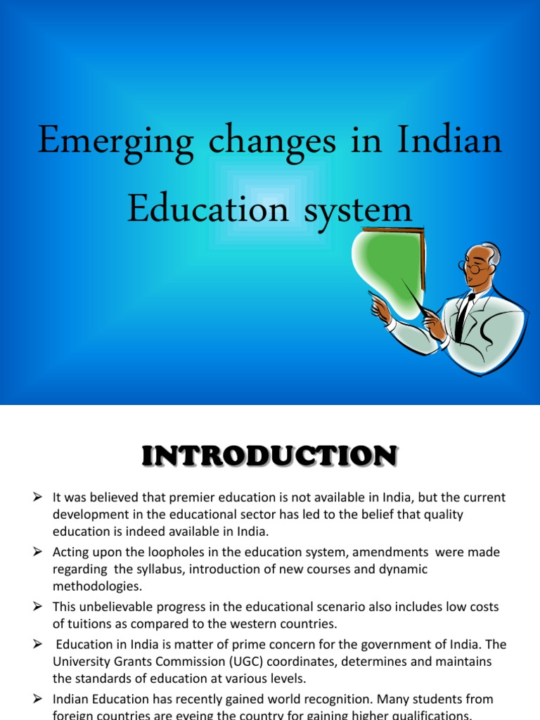 the problems with indian education system and recommendations The system of education in india should first focus on teaching using the mother tongue and move on to english upon higher education there are countries like the philippines that are now putting emphasis on teaching in the mother tongue.