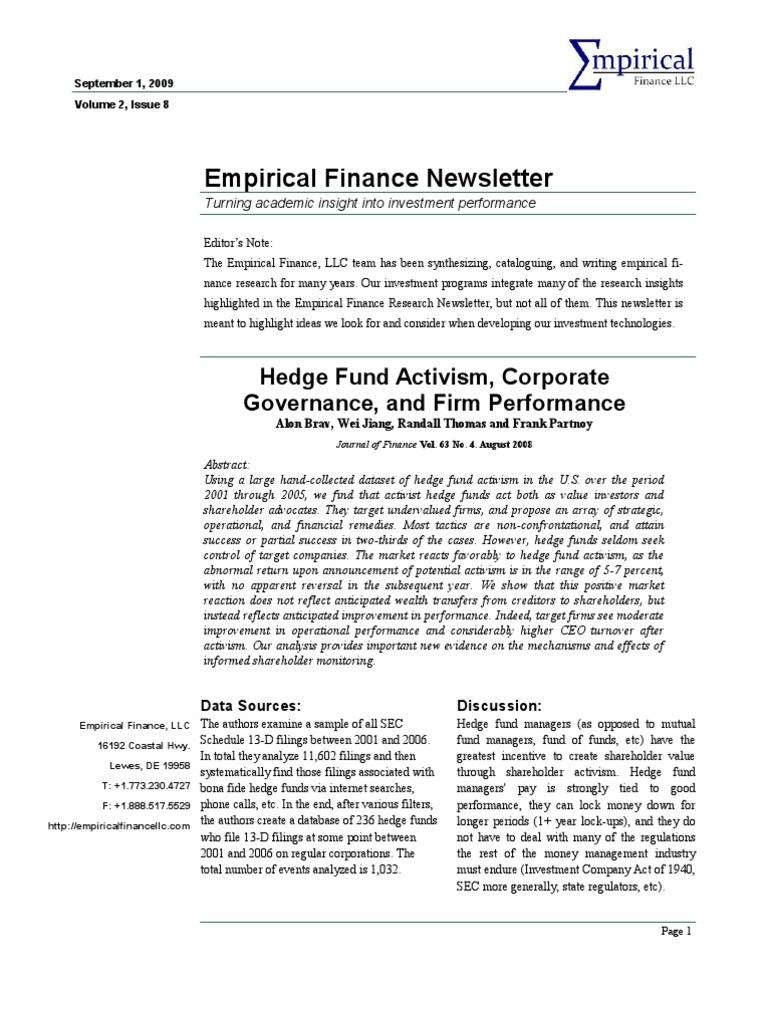 empirical finance Empirical finance from time series analysis to risk neutral pricing florian ielpo centre d'economie de la sorbonne (cermsem) – paris, france.