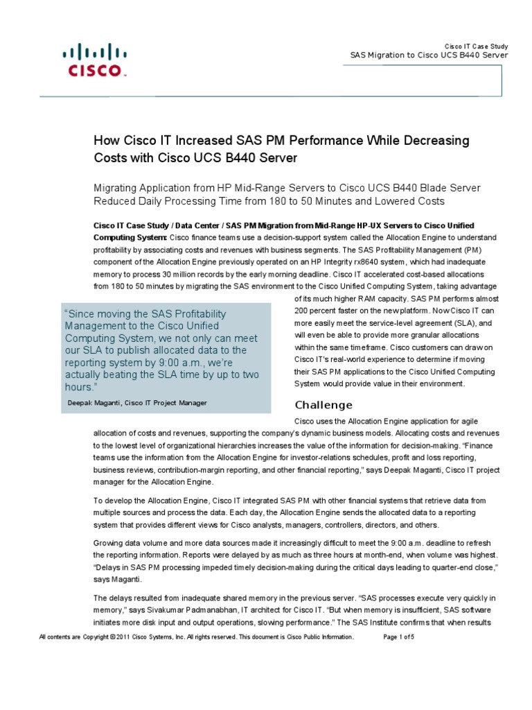 case study report for cisco system Cisco case analysis cisco's video-conferencing system for living rooms has been a strange product to market cisco case study debasish padhy.