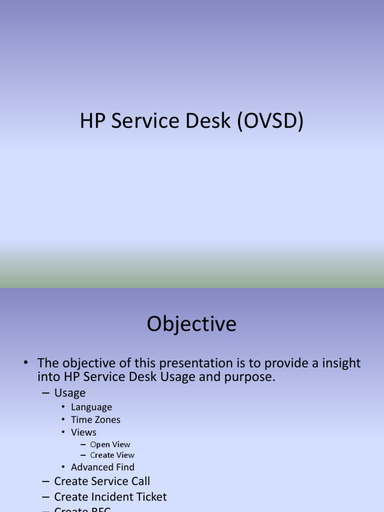 hp openview