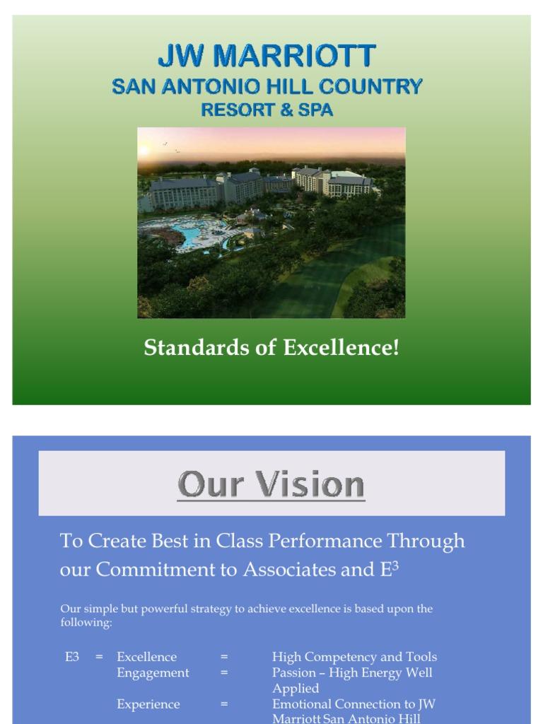 Marriott Hotel Excellence Program Login