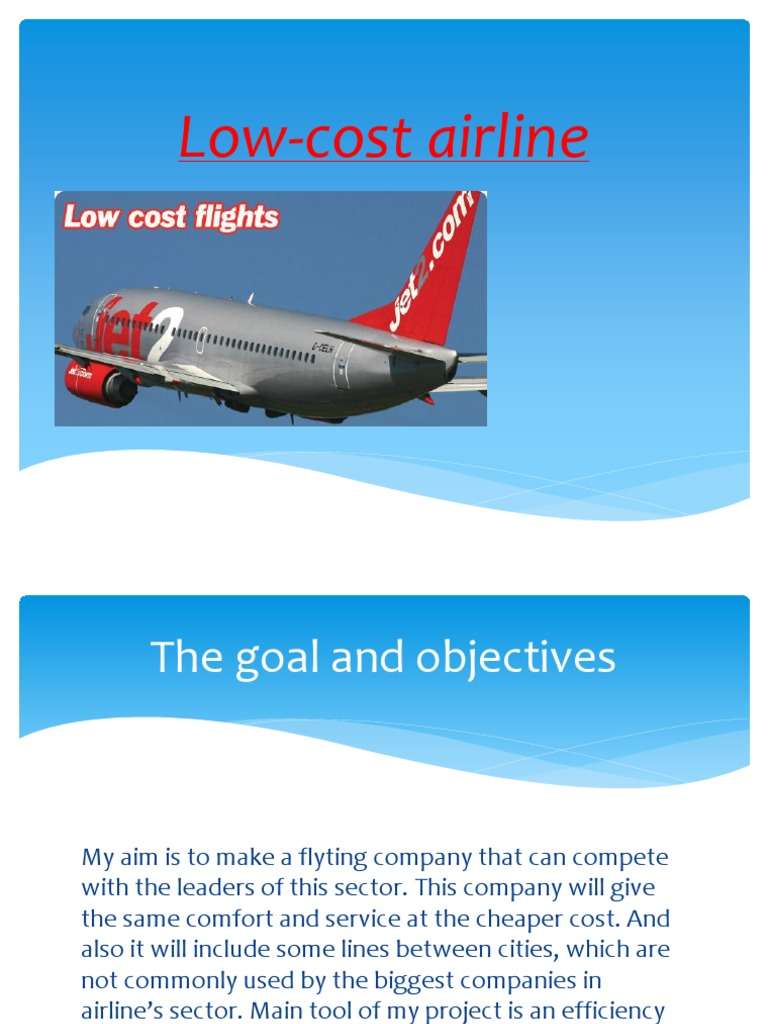 comprehensive analysis of sa low cost airline Discusses comprehensive research (or low cost) carriers, such as eairlines: strategic and tactical use of icts in the airline industry 5 2 historical.