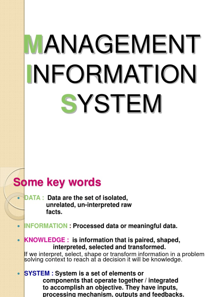 management information system multiple choice question