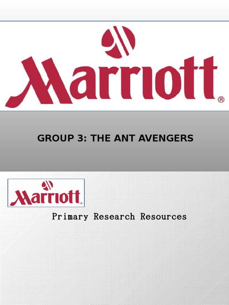 marriot case Marriott bedding program case study marriott bedding program marriott international uses project management to upgrade bedding worldwide headquartered in washington, dc, marriott international, inc is one of the leading hospitality companies in the world with more than 2,400 properties in 68 countries and territories.