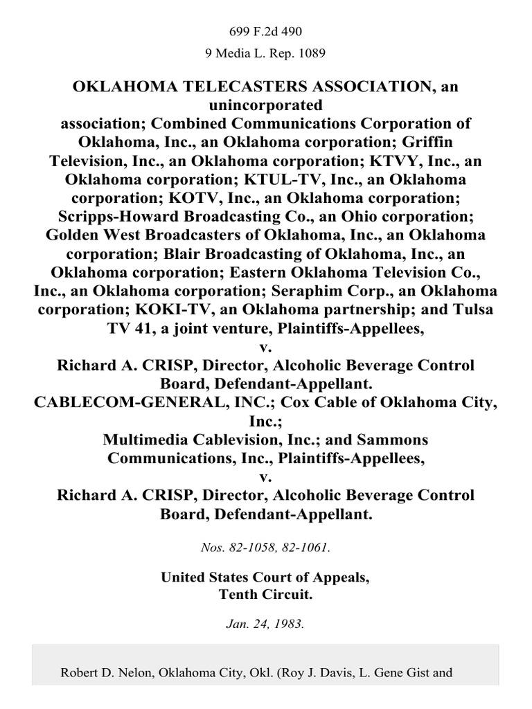 Control Technology Inc Oklahoma City
