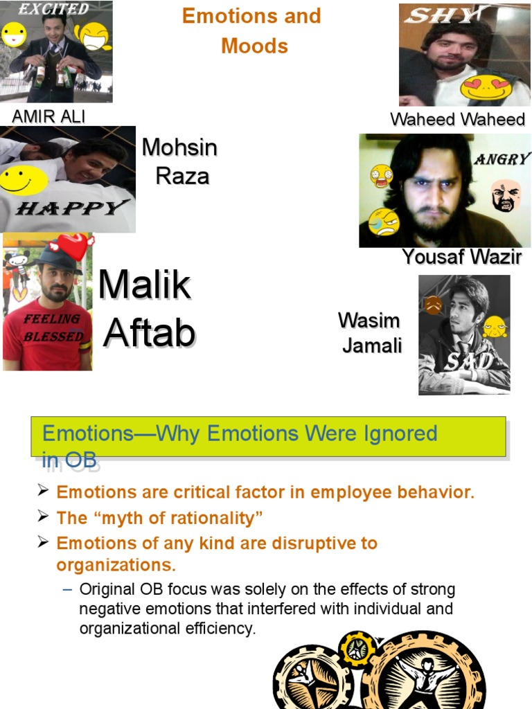 organizational behavior emotions and moods Study flashcards on management and organizational behavior chapter 7 emotions and moods university of baltimore at cramcom quickly memorize the.