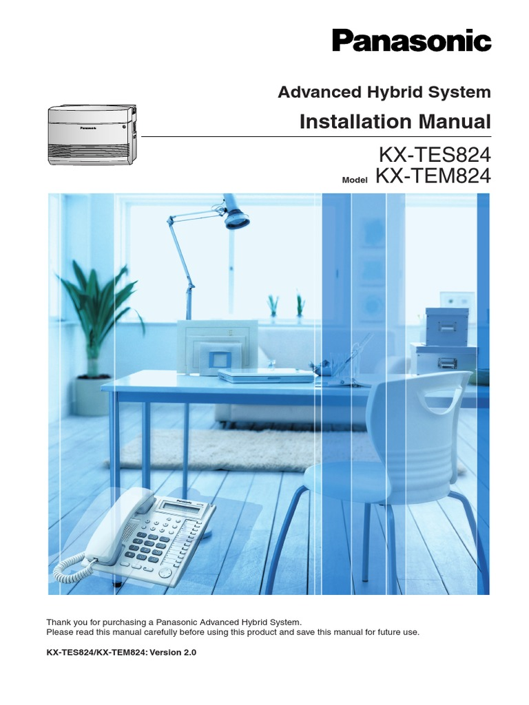 panasonic kx tes824 installation manual docshare tips rh docshare tips panasonic kx tes824 programming manual pdf panasonic kx-tem824 user manual