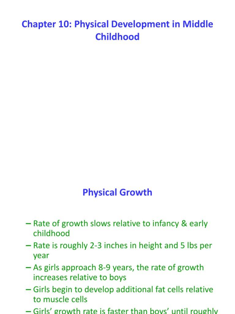 bshs 325 week 3 physical development