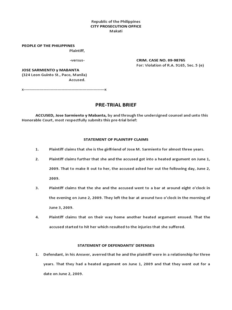 trial by ordeal brief Brief of plaintiff- appellee trial only when the barriers and safeguards are so relaxed or forgotten the proceeding is more of a spectacle or a trial by ordeal.