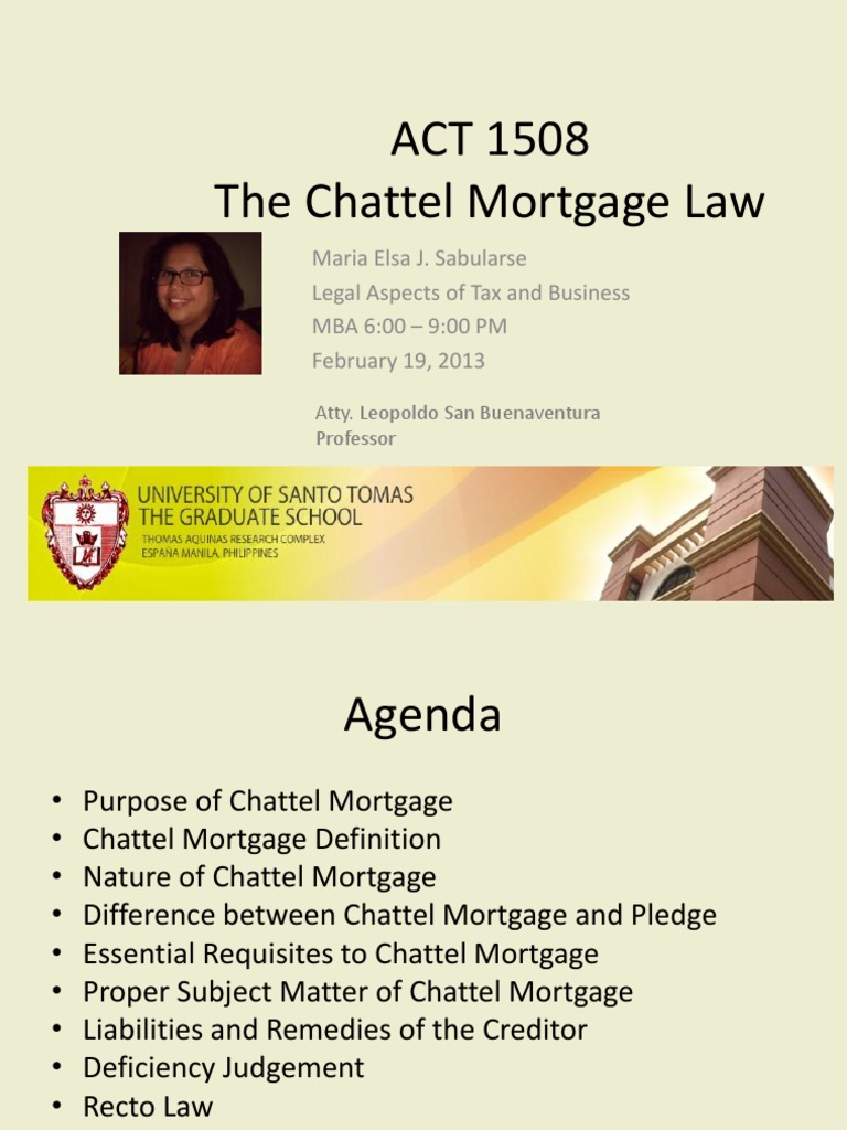 chattel mortgage mortgagor What would your car repayment be use our chattel mortgage repayment to find out.