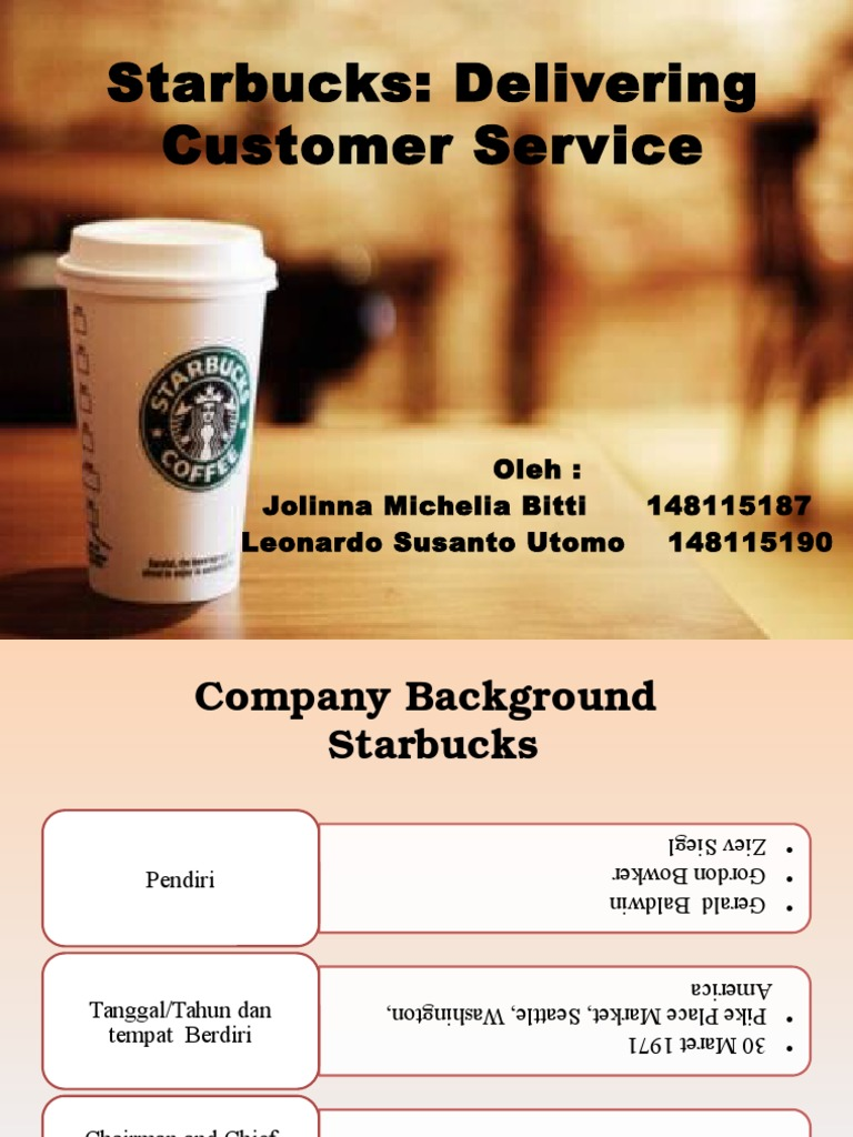 starbucks case solution Starbucks – one of the analysis of exhibits from the case: we can clearly see that adding additional employees to speed up the service is not a solution to.