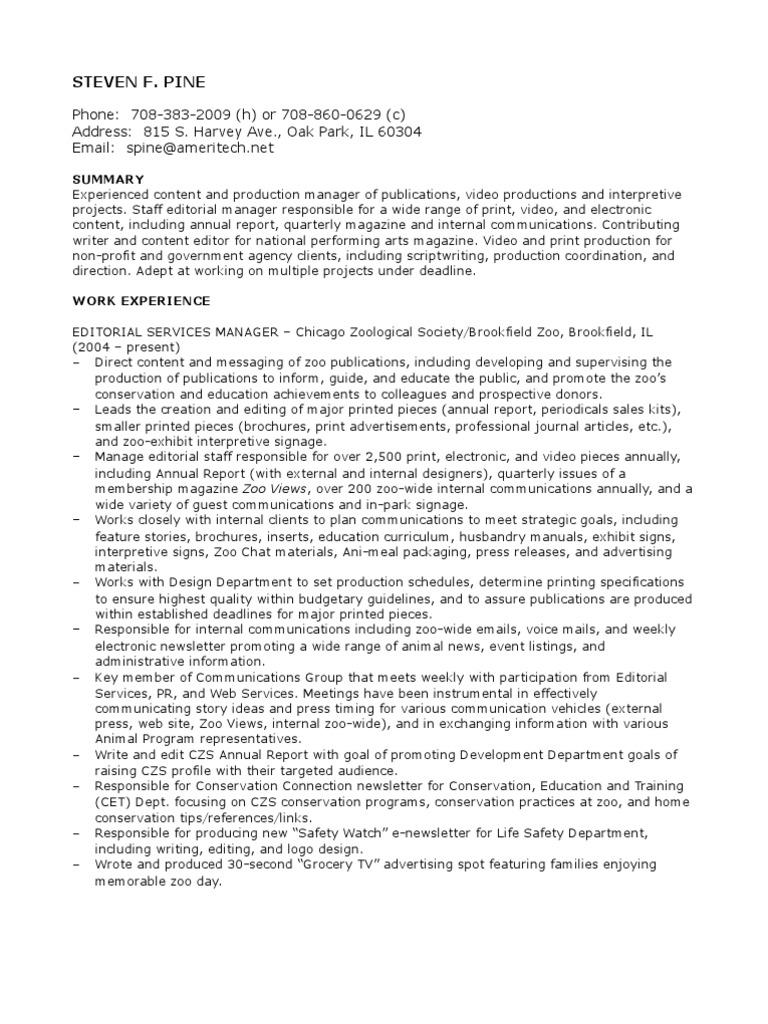 Download Steven Clark Bradley Resume - DocShare.tips