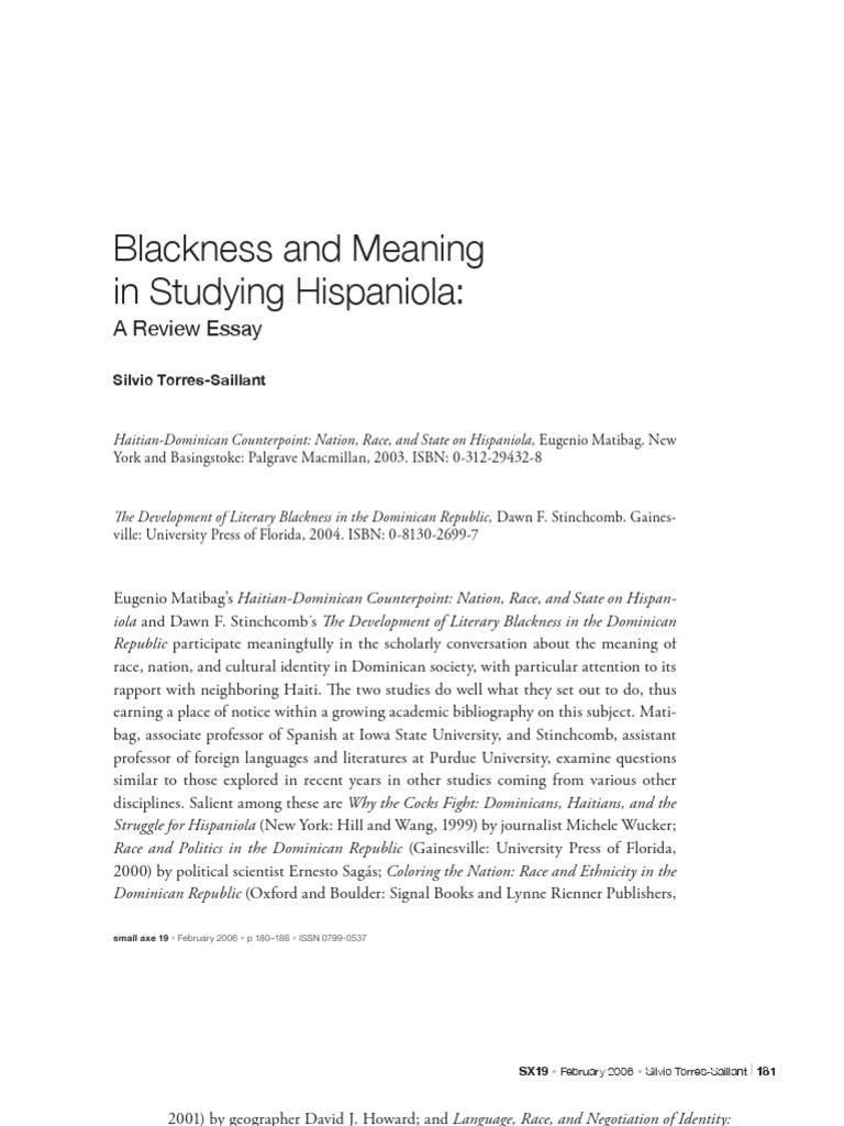 haitians and the struggle for hispaniola essay