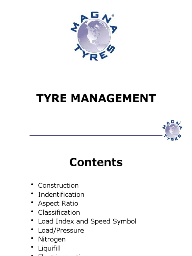 Download TYRE TERMINOLOGY pdf - DocShare tips