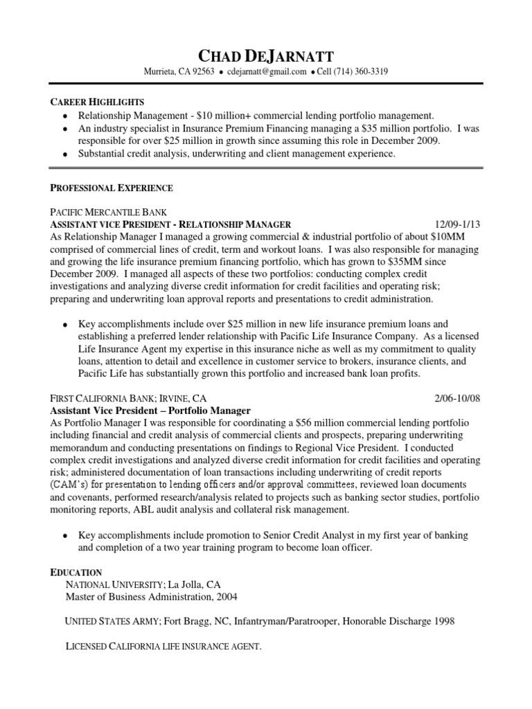 VP Portfolio Manager Relationship Management in Orange County CA ...