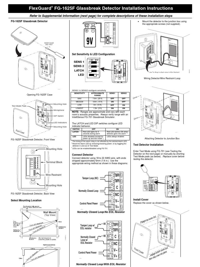 Honeywell Fg1625f Install Guide Junction Box Wiring Tips