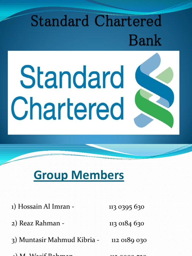 standard chartered bank in pakistan information technology essay Standard chartered pakistan is a pakistani banking and financial services company in pakistan and is a wholly owned subsidiary of uk-based standard chartered it is pakistan's oldest and largest foreign commercial bank it employs over 9000 people in its 94 branches in pakistan history the history of.
