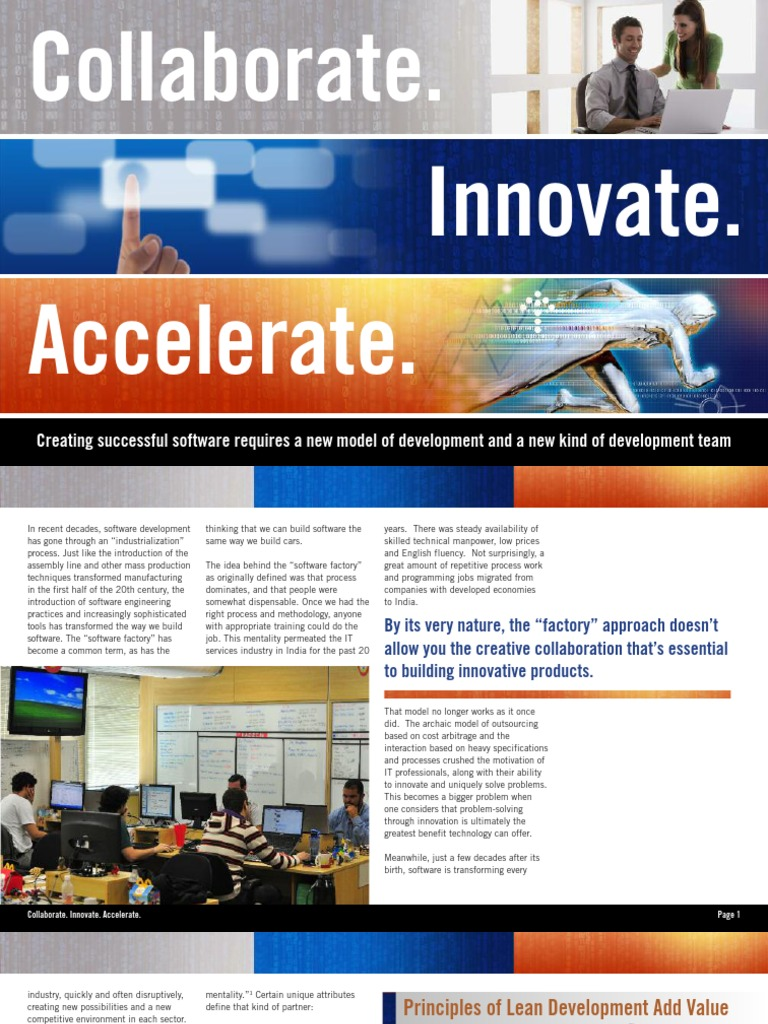 Collaborate Innovate Accelerate - DocShare tips