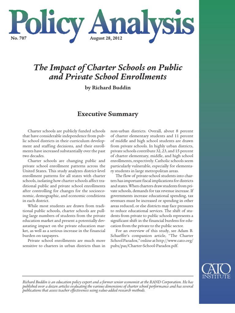an analysis of school vouchers