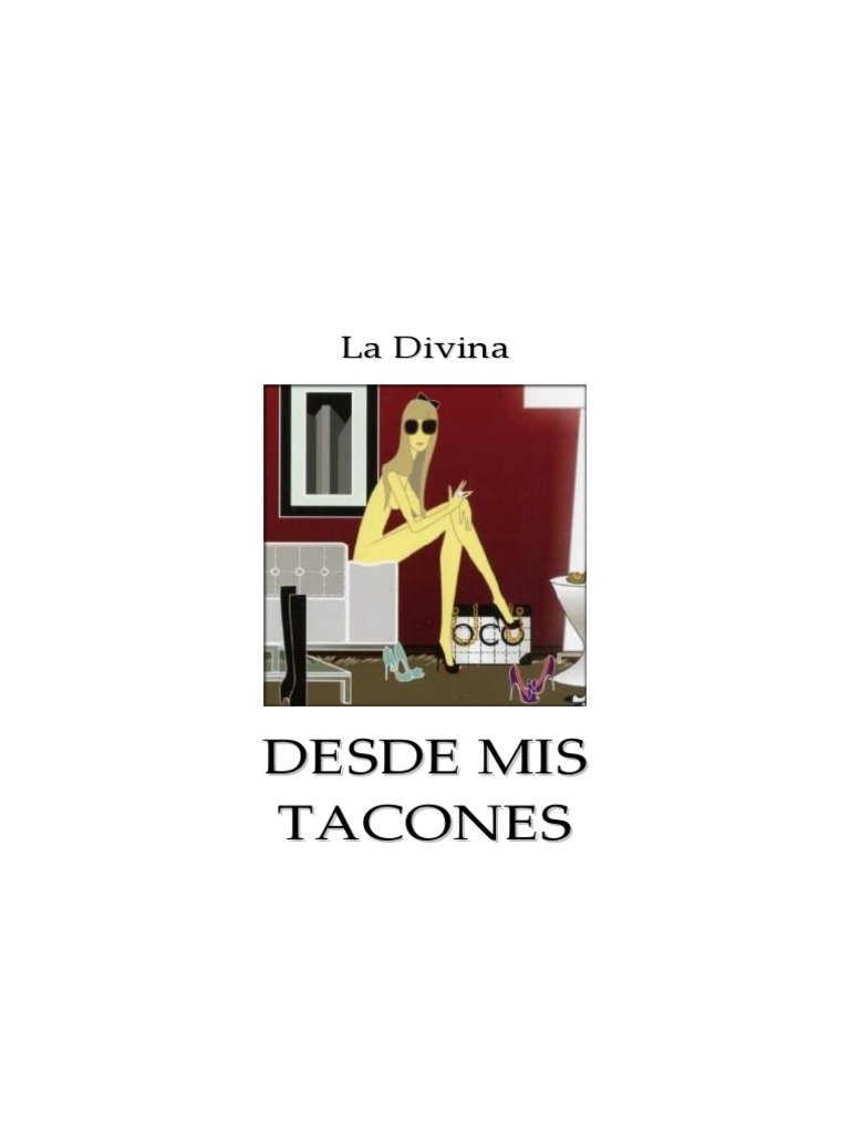 La Divina - Desde Mis Tacones WORD - DocShare.tips ba617f253233