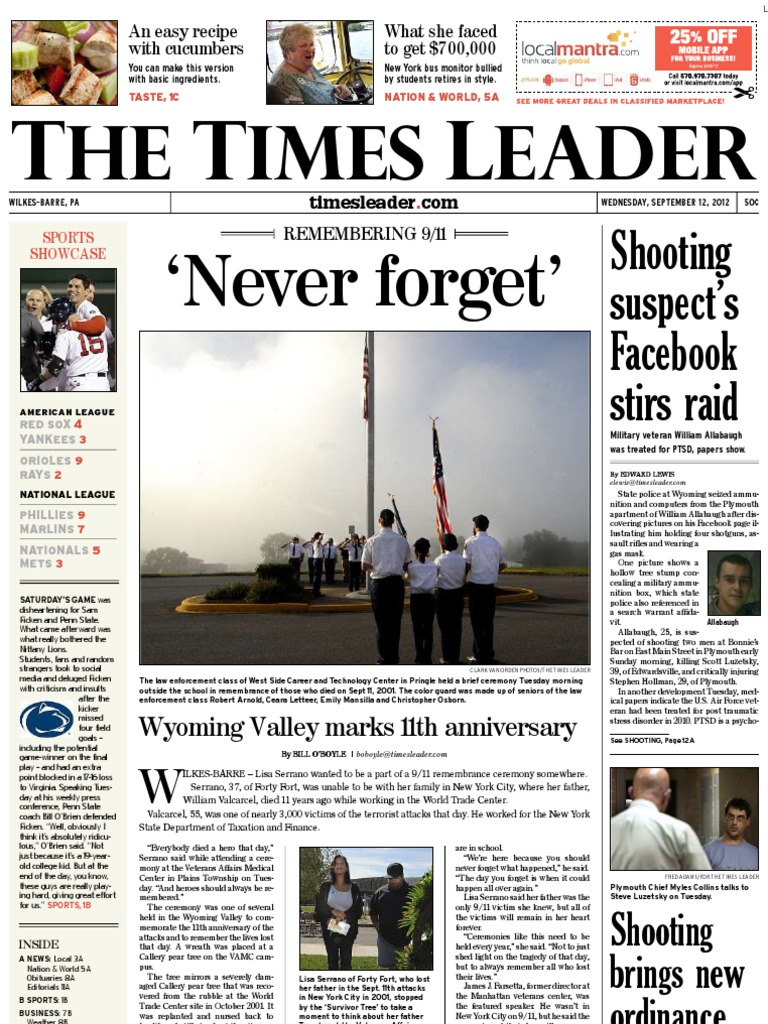 Times Leader 09-12-2012 - DocShare tips