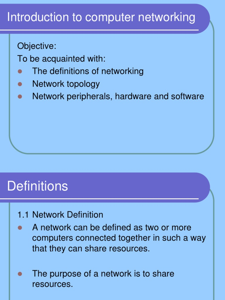 an introduction to the networking on the computer Not ready for mta servers / networking, comptia, vpn, general networking courses the solution is simple: introduction to networking for complete beginners more than 80000 students have joined this training 5000+ reviews.