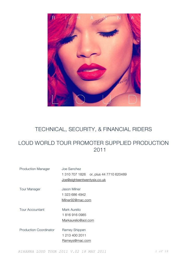 Rihanna Loud Digital Booklet Pdf