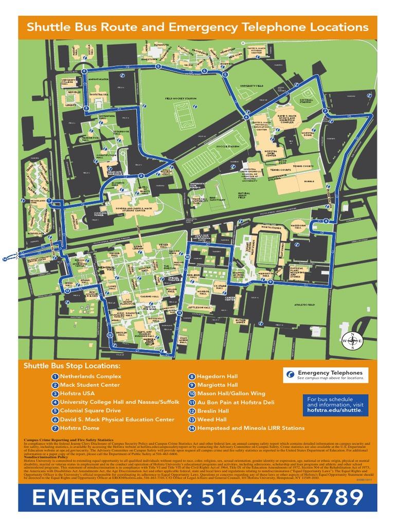 Hofstra University Shuttle Bus Route Docshare Tips
