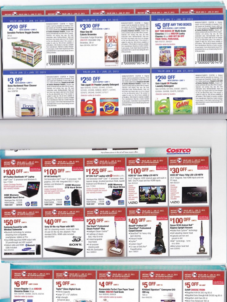 Costco Jan coupons - DocShare tips
