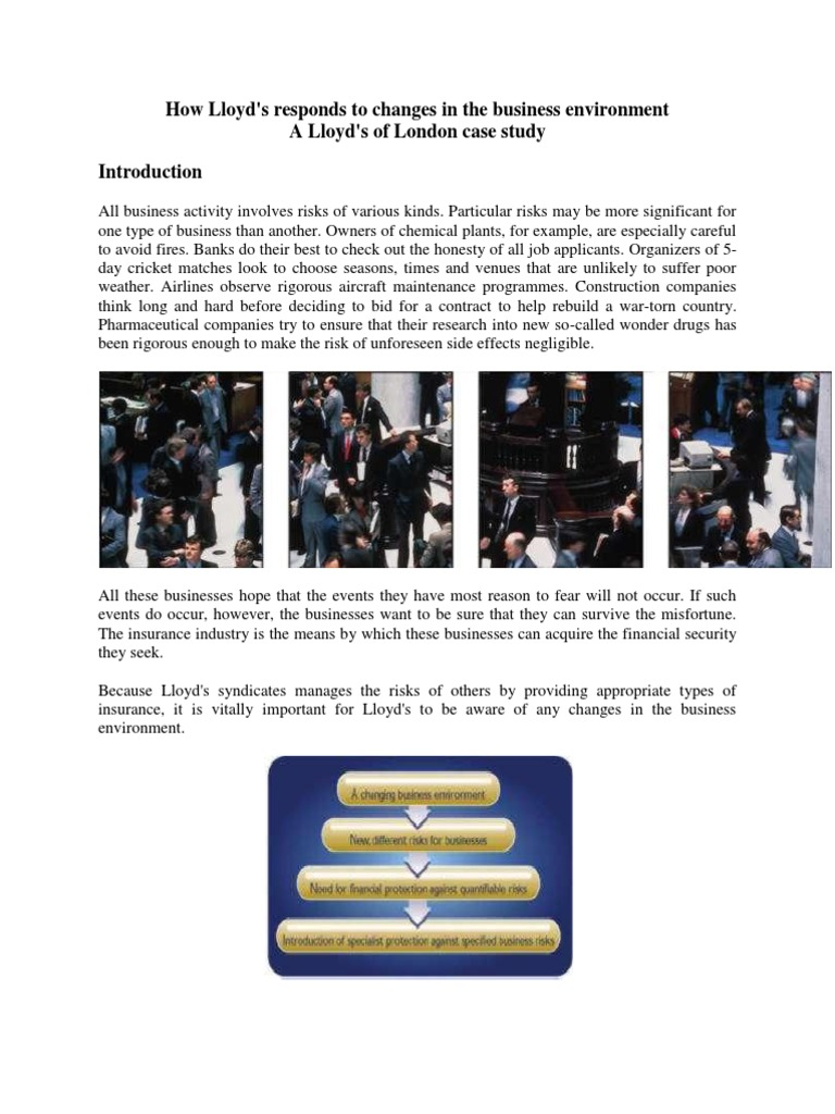 global business environment case study