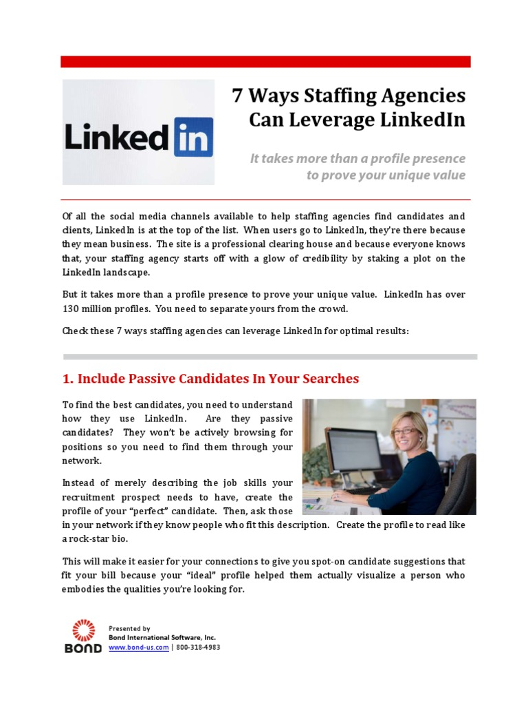 staffing a call center docshare tips 7 ways staffing agencies can leverage linkedin pdf