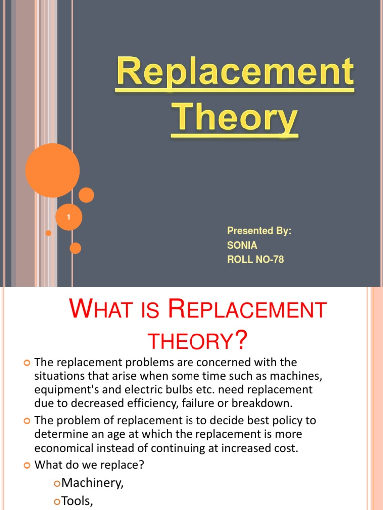 what is replacement theory