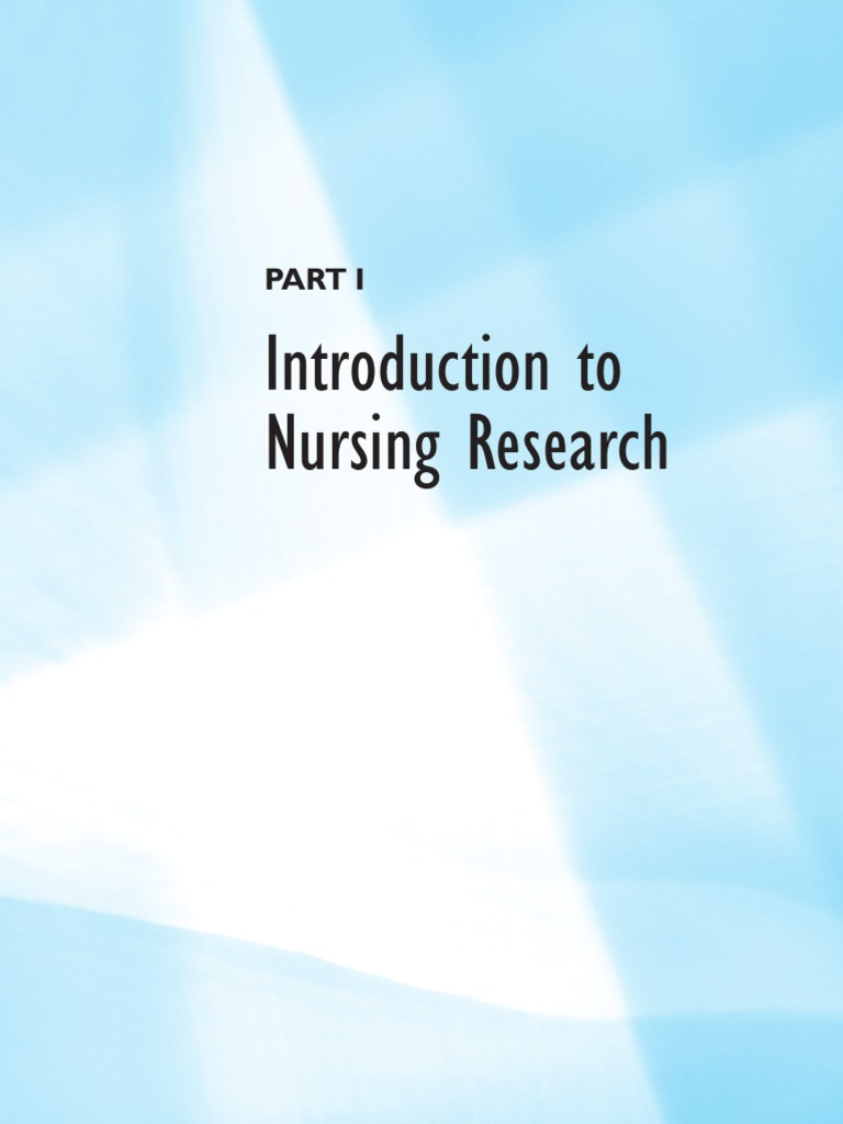 nursing research paper introduction Writing the ethics term paper the opening paragraph serves an introduction to your paper after you have completed your research.