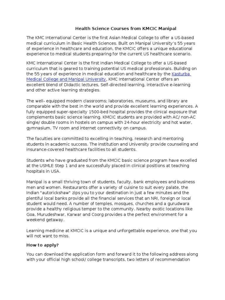 science letter of recommendation medical school
