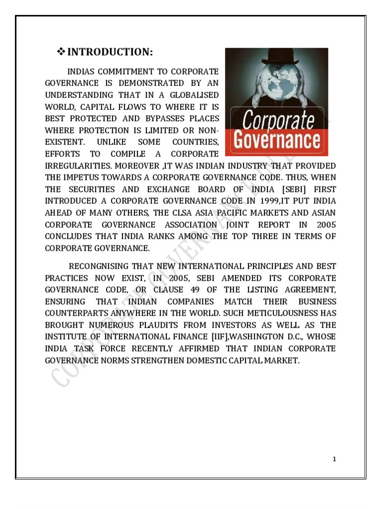 Corporate Governance In Bank Docshare